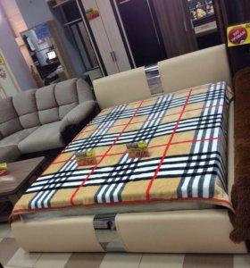 Челси кровать с подъёмным механизмом (беж)