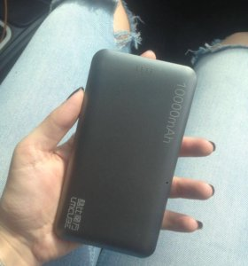 портативное зарядное устройство 10000 aMh