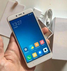 Xiomi Redmi 4X 32GB Ростест Большой 5.5 экран Меа