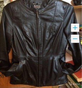 Куртка кожа Турция новая M