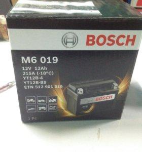 AGM 12Ah 12V 215A Мото Аккумулятор Bosch M6 019