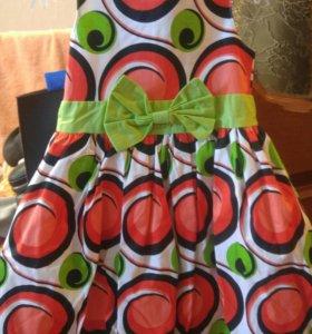 Новое детское платье для девочки