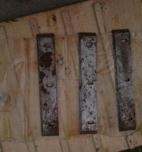 Ножи для деревообрабатывающего станка или рубанка