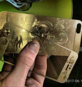 Защитные стекла на айфон 5-5S