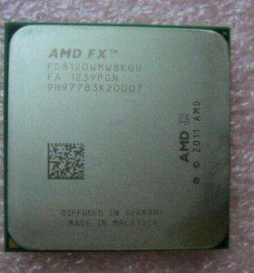 АМD FX 8120, 8 ядер