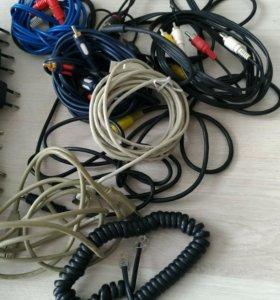 Блоки питания, кабели, переходники