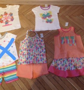 Комплект одежды для сада или на лето