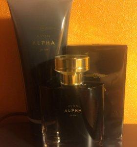 Мужская туалетная вода Alpha Avon