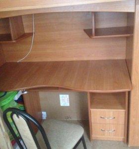 Комплекс: кровать,шкаф,стол