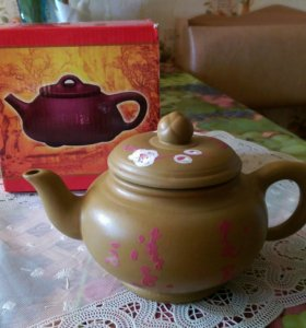Новый! Чайник глиняный заварочный