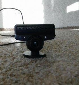 Playstation 3 с мувом , камеройи двумя геймпадами.