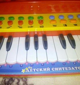 """Музыкальная игрушка """"детский синтезатор"""""""