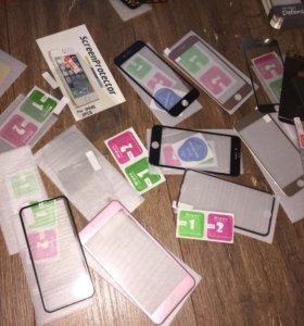 3д стекла/пленки iPhone 5s/6/6s/6+/7+/7