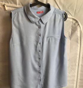 Рубашка без рукавов, вискоза 100%