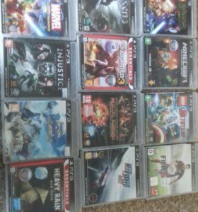 Игры для playstation 3. Возможен небольшой торг.