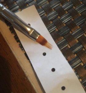 Кисть для дизайна ногтей (градиент)