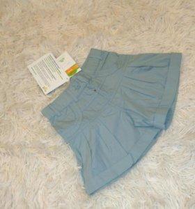 Новая юбка-шорты, размер 104