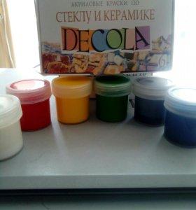 Краски по керамике и стеклу