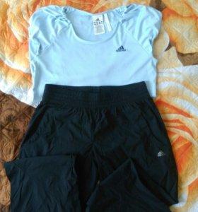 Штаны+футболка Adidas
