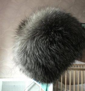 Шапка зимняя из Чернобурки