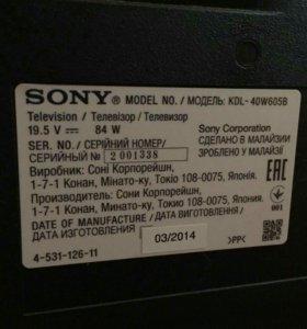 Sony Bravia KDL 40w605b