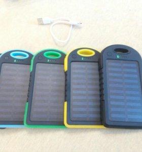 Power bank 12.000mAh с зарядкой от солнца+ доставк