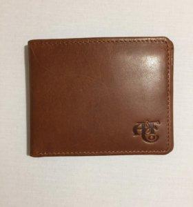 Кошелёк портмоне из натуральной кожи Abercrombie