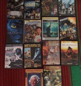 Продам диски фильмы