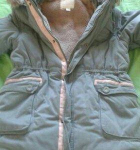 Куртка зимняя на мальчика 11-13 лет
