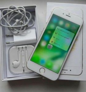iPhone 6s Gold 16gb на оф. Гарантии