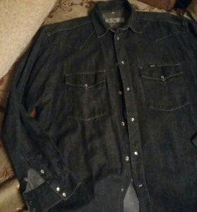 Джинсовая рубашка LEE (USA)