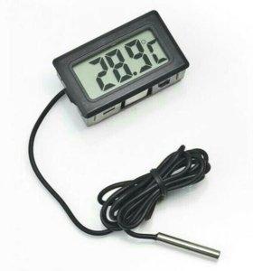 ЖК термометр с выносным датчиком