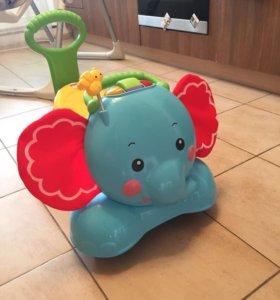 Каталка слоник Fisher-Price