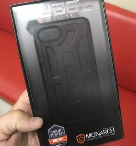 Оригинальный UAG IPhone 7 Midnight Black