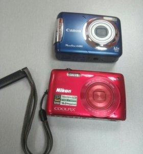 Фотоаппараты (неисправные)