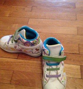 Ботинки на девочку.