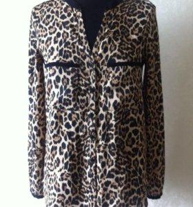 Блузка с длинным рукавом Zara, р-р 42 (XS)