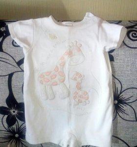 Боди с жирафиком
