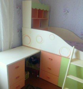 Детский уголок- кровать