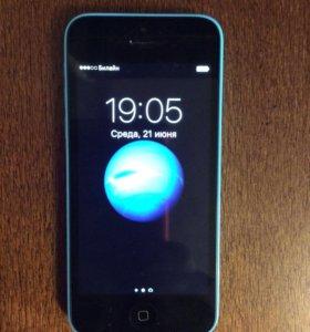 iPhone 5c 16gb идеальное состояние