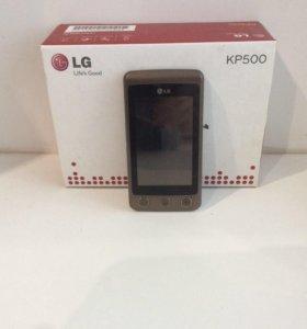 Телефон LG KP 500