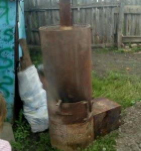 Котел с печью для бани