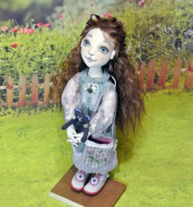 Текстильная кукла Маша