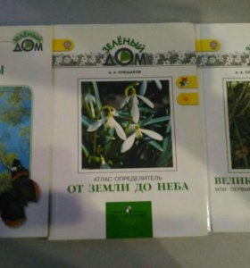 Сет книг (зелёный дом)