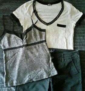 Пакет брендовой одежды motivi и American Eagle