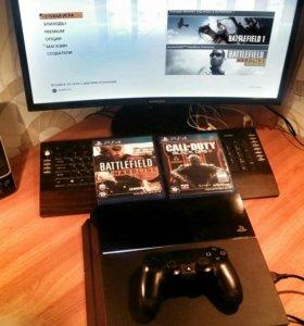 PS4 + 2 игры