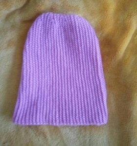 Самовязанная шапка
