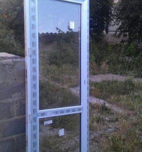 Двери металопластиковые.