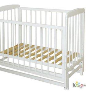 Детская кроватка Дарья с матрасом