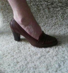 Туфли женские ручная работа